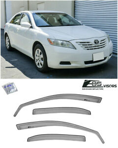 Eos For 07 11 Toyota Camry Jdm In Channel Side Vents Window Visors Rain Guards