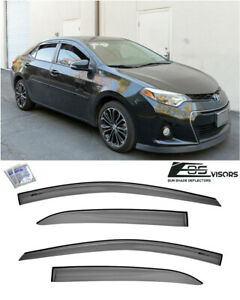 Eos For 14 19 Toyota Corolla Jdm Mugen Style Side Vent Window Visors Rain Guards