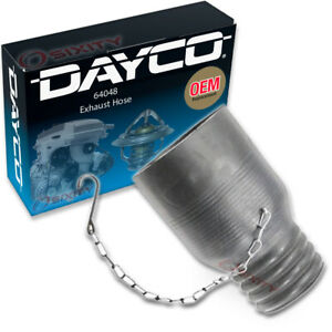 Dayco 64048 Exhaust Hose Dynamometer Vent Central Garage Exhaust Mh