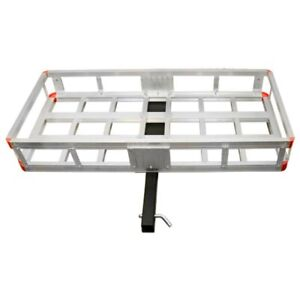 500 Pounds Capacity Aluminum Cargo Carrier Hitch Pin Included