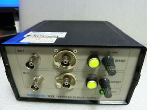 Tektronix 1103 Tekprobe Dual Power Supply W cables Included