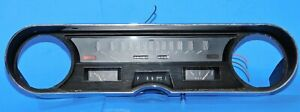 1965 1966 Cadillac Deville Fleetwood Oem Speedometer Cluster Gauges With Bezel