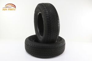 Dunlop Grandtrek At20 P265 70 R17 113s M S 7 32 Nds Two Used Tires Oem
