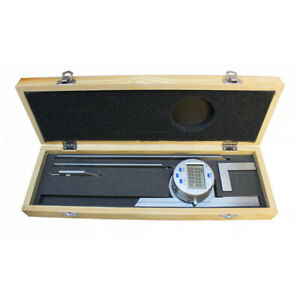 Universal Digital Electric Protractor Stainless Steel 6 12 Blade 0 360 Degree