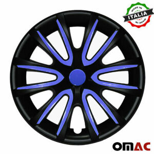 16 Wheel Rim Cover Hubcap Matte Black Dark Blue For Honda Accord 4pcs Set