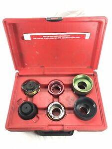 Snap On Coolant Tester Svta6100 Large Truck Cooling System Adapter Set In Case