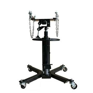 2 Stage Hydraulic Transmission Jack 1100lb W 360swivel Wheels Lift Hoist New