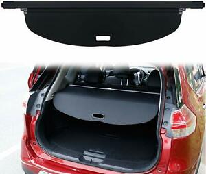 Black Rear Trunk Cargo Nets Security Shade Cover Shield For Nissan Rogue 14 18
