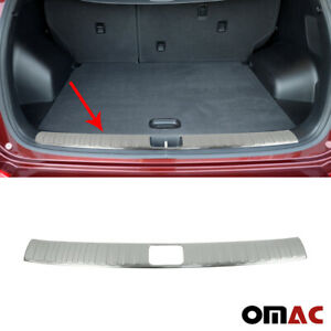 Rear Trunk Bumper Protector Brushed S steel For Hyundai Tucson 2016 2021
