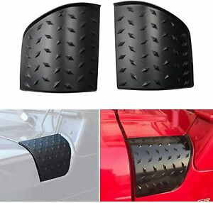 Engine Hood Armor Cowl Cover Body Corner Guards For Jeep Wrangler Tj 1997 2006