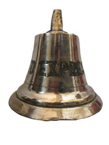 Vintage Med Express Made Marine Brass Bell Ship S 100 Original 244
