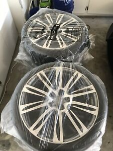 Audi 20 Oem Wheels And Continental Tires