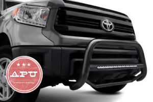 Apu 2006 2010 Ford Explorer Black Led Bull Bar Bumper Brush Guard