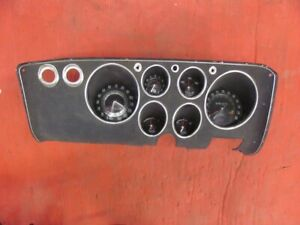 65 66 67 Corvair Spyder Dash With Factory Tach Gauges 1965 1966 1967