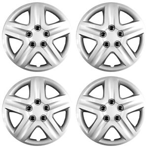 16 5 Spoke Silver Wheel Cover Hubcaps For 2006 2011 Chevy Impala