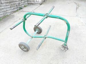 Greenlee 909 6 Spool Ring Wire Cable Rolling Cart Use W Your Tugger