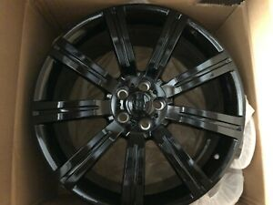 22 Inch Wheels Fit Range Rover Hse Sport Supercharged Stormer Lr3 Gloss Black