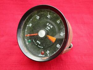 Smiths Dash Tachometer Gauge Rn 2318 00 For Triumph Gt6 Tested And Works