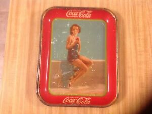 Original 1933 Coca-Cola Tray Frances Dee Paramount Player by American Art Works