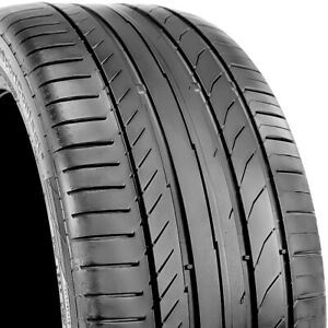 Continental Contisportcontact 5 Mo 245 40r17 91w Used Tire 6 7 32 107963