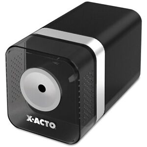 X acto Heavy duty Electric Pencil Sharpener Black