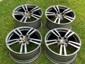 20 Porsche Panamera 20 In Forged Turbo Ii Wheels Rims Factory Oem Original