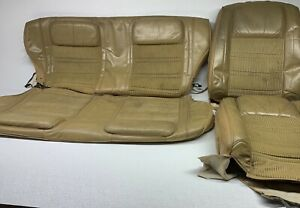 Oem Jeep Grand Wagoneer Front Seat Uppers Rear Seat Skin Cover Left Right Tan 88