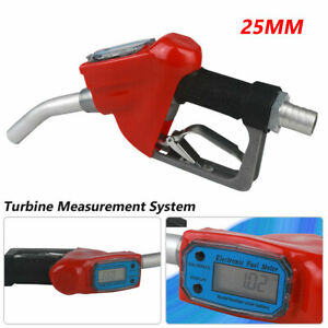 Trubine Mechanical Gas Diesel Digital Fuel Nozzle With Accuracy Reading Meter