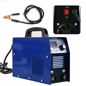 Mma Handheld Mini Electric Welder 110v 20 200a Inverter Welding Machine Tool Usa