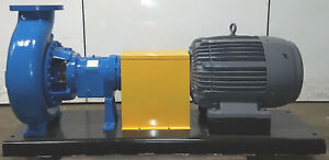Peerless goulds 8196 Xltp 8x10 15 Centrifugal Ss Stainless Pump 60hp Motor