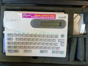 Brother P touch Label Machine F 1813