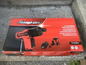 Snap On Microlithium Ct761aoqcx1 1 4 Hex Quick Change Impact Driver Kit