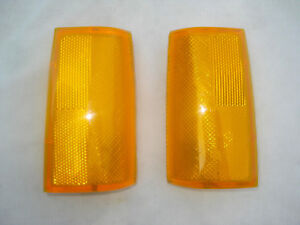Nos Chevy Caprice 1980 1981 1982 1983 1984 1985 Head Light Side Marker Lamp Set