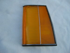Nos Chevy Caprice Classic 1977 1978 Lh Head Light Bezel Side Marker Lamp