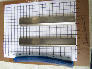 Pair Straight Edge Moulder Blades Bits Knives 5 16 Corrugated Back Shaper Route