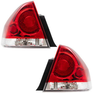Tail Lights Set Fits 06 13 Chevrolet Impala 14 16 Impala Limited Pair Taillamps