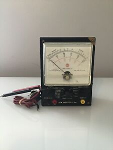 Rare Old Rca Institutes Meter Assembly Kit New York
