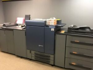 Konica Minolta Bizhub Press C8000 Color Copier Printer 1 7m Copies 2k Parts