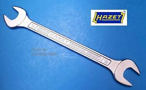 Hazet Germany 450n 14x15 Double Open End Wrench 14mm X 15mm