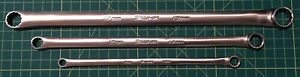 Snap On Tools 3pc Zero Offset 8mm 19mm Box End Xdhfm Series Wrench Set Xtra Long