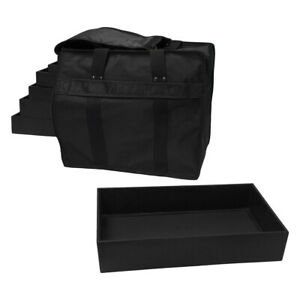 12 Pc 1 Tray In A Jewelry Travel Salesman Sample Display Carrying Case