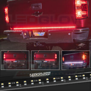 Ledglow 60 Double Row Truck Tailgate Led Light Bar Reverse Brake Turn Signals