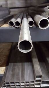 2 Stainless Steel Round Tube X 120 Wall X 24 Long