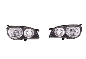 Headlights Pair For Toyota Corolla Ae112 1999 2001