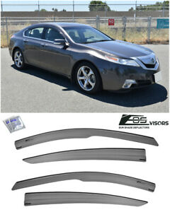 Eos For 09 14 Acura Tl Jdm Mugen Tape On Side Vents Window Visors Rain Guards