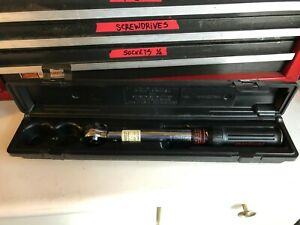 Sears Craftman 3 8 Drive Torque Wrench 9 44468 Made In U S A