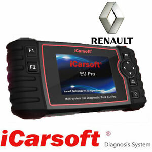 Icarsoft Eu Pro Renault Professional Diagnostic Tool For All European Vehicles