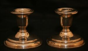 Vintage Birks Sterling Silver Candle Holders 3 Pair 76 36