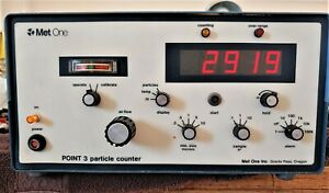 Met One Point 3 P3s 1 1 vrh t Particle Counter With 200083c 7 Probe