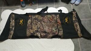Browning Seat Cover Camo Back Seat Black Buckmark Fits Most Full Size Trucks Guc